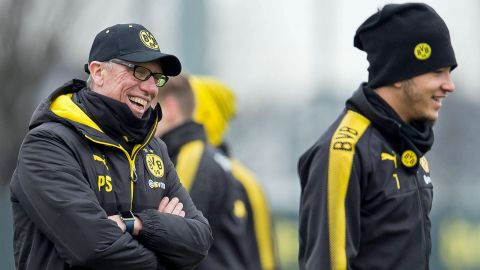 "Peter Stöger: ""Jadon Sancho a real talent"""