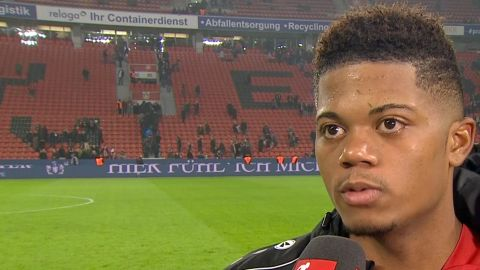 Watch: Leon Bailey praises Leverkusen performance