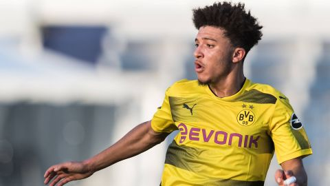 "Jadon Sancho: ""Pulisic an inspiration for me"""