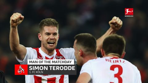 Simon Terodde: MD18's Man of the Matchday