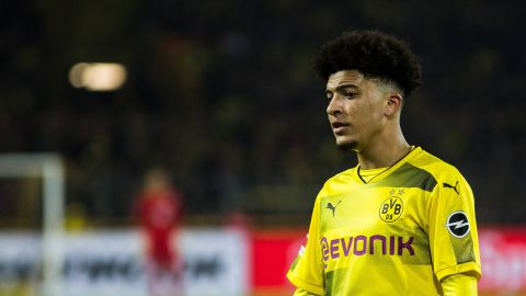 Jadon Sancho makes first Bundesliga start