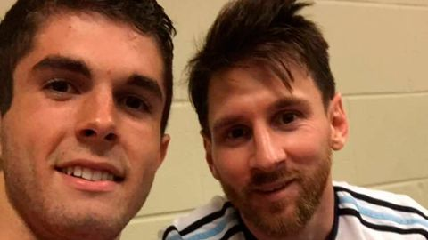 Pulisic outs himself as Messi fan