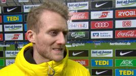 "Watch: Schürrle: ""Didn't play until they scored"""