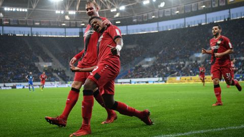 Bailey wondergoal helps Bayer past Hoffenheim