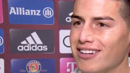 "Watch: James hails Bayern's ""world-class players"""