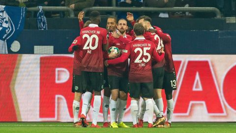 Schalke 1-1 Hannover: As it happened!