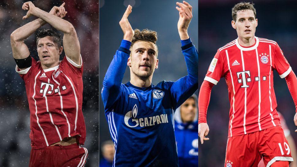 Bundesliga | Robert Lewandowksi, Leon Goretzka, Sebastian