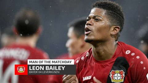 Leon Bailey: MD19's Man of the Matchday
