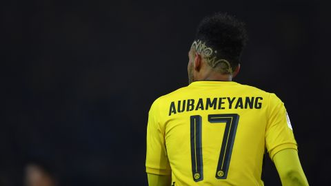 Aubameyang leaves Dortmund for Arsenal