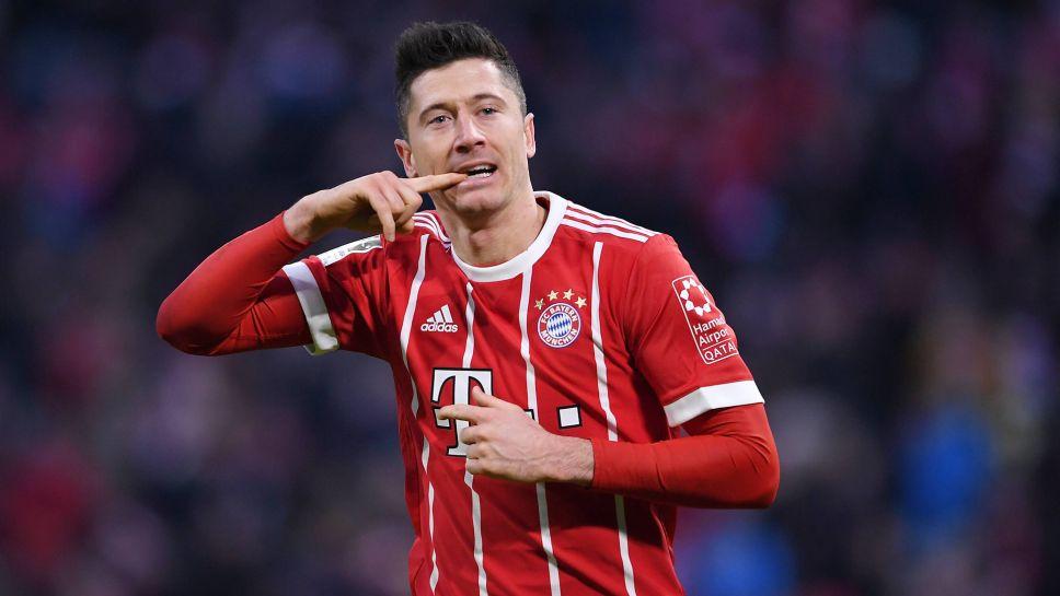 hot sale online 3aa5b 798aa Bundesliga | Robert Lewandowski: 10 things on the Bayern ...