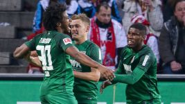 Augsburg halt Cologne's winning run