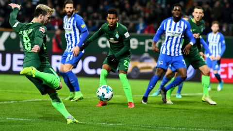 Bremen held at home by Hertha