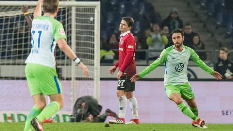 Watch: Hannover 0-1 Wolfsburg