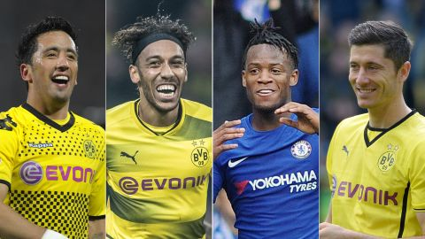 Dortmund's never-ending supply of strikers