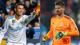Cristiano Ronaldo and Ron-Robert Zieler?