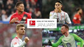 Watch: January Goal of the Month