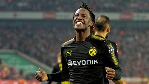 Batshuayi's dream Dortmund debut