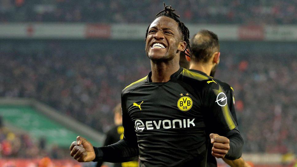 Bundesliga Michy Batshuayi Bags Brace And Assist On Dream Borussia Dortmund Debut At Cologne