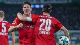 Mario Gomez earns Stuttgart point at Wolfsburg