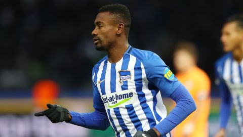 Kalou rescues point for Hertha against Hoffenheim