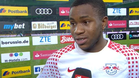 "Watch: Lookman: ""I wanted to make an impact"""