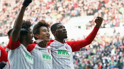 Augsburg 3-0 Frankfurt: As it happened!