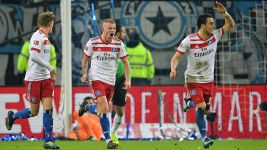 Hamburg snatch late point from Hannover