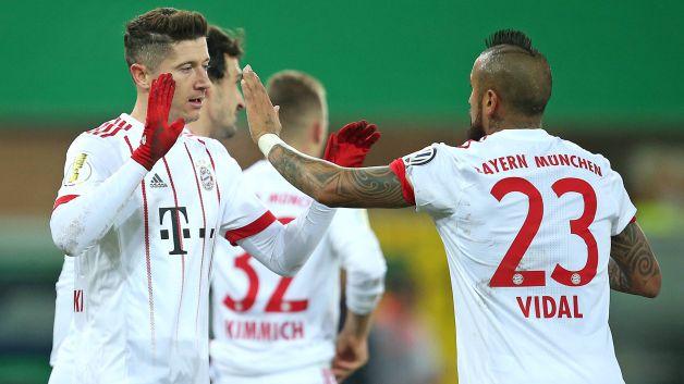 Bundesliga | Bayern Munich hit Paderborn for six to ease