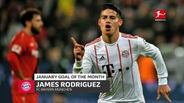 James wins January Goal of the Month!