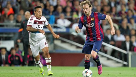 "Barca's Rakitic tips Bayern as UCL ""candidate"""