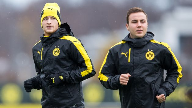 Marco Reus and Mario Götze: best friends finally reunited for Borussia Dortmund?