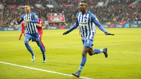 Clinical Hertha stun Leverkusen