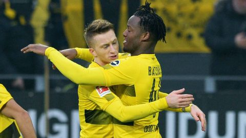 Reus back, Batshuayi on target and BVB win
