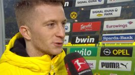 Watch: Marco Reus delights in return