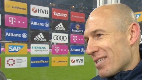 "Watch: Robben ""We're always well prepared"""