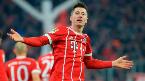 Lewandowski named Poland's Player of the Year