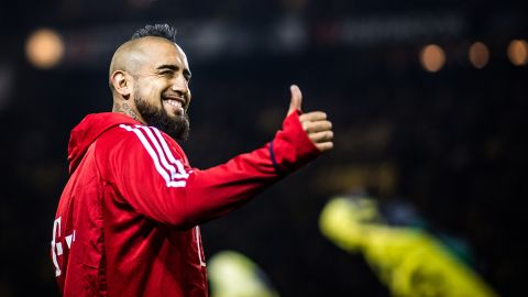 "Vidal: ""I don't think about a move"""