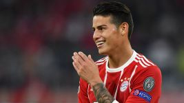 "James: ""Bayern are my Champions League favourite"""