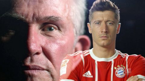Watch: Lewandowski vs. Heynckes