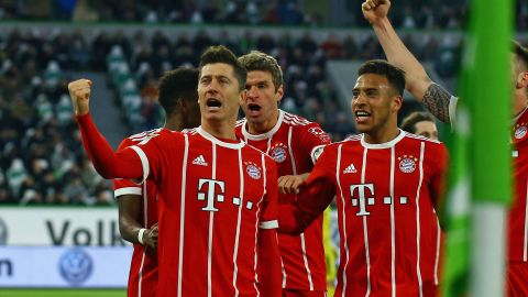 Wolfsburg 1-2 Bayern: As it happened!
