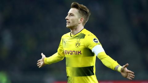 Reus lifts Dortmund to second