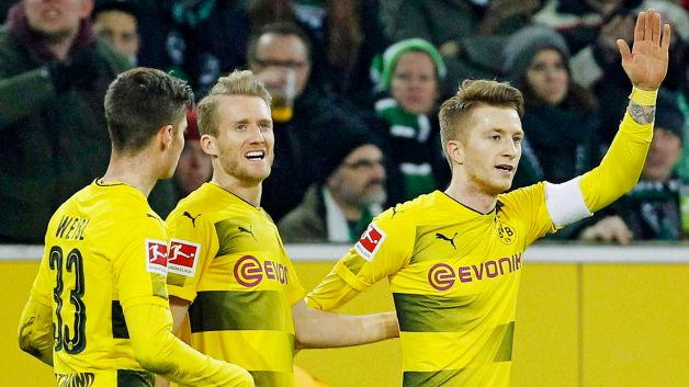 "Borussia Dortmund's Andre Schürrle on playing alongside Marco Reus and Mario Götze: ""We've wanted this for a long time"""