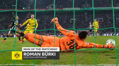 Roman Bürki: MD23's Man of the Matchday