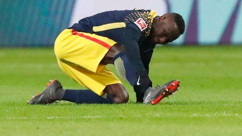 Keita sidelined with injury