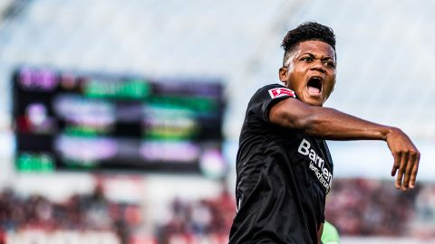 "Leon Bailey: ""We want to finish second"""