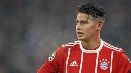 "Bayern star James' injury ""not serious"""