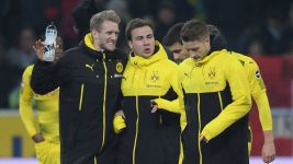 Watch: Schürrle, Götze and Reus fit and firing
