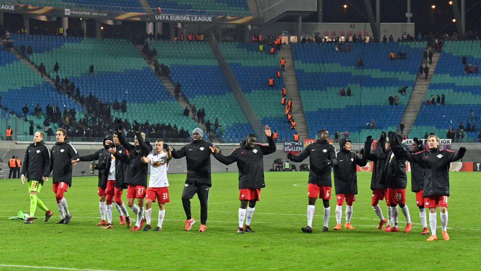 Bundesliga Rb Leipzig Through To Uefa Europa League Round Of 16 After Beating Serie A Leaders Napoli On Away Goals