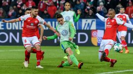 Wolfsburg and Mainz share spoils