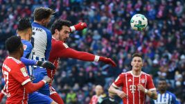Bayern held to goalless draw by Hertha
